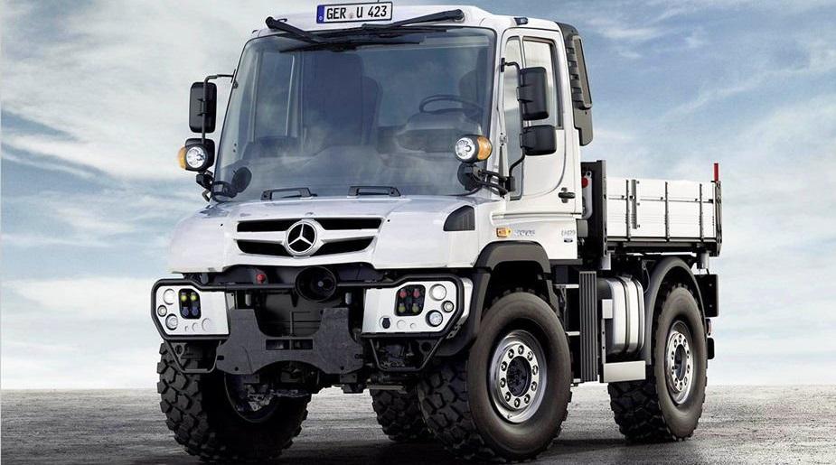 Mercedes Unimog исполнилось 70 лет, Мерседес снял юбилейное видео