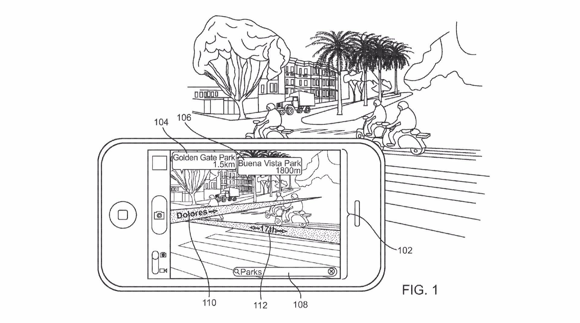 Apple сможет интегрировать изображение с телефона на лобовое стекло