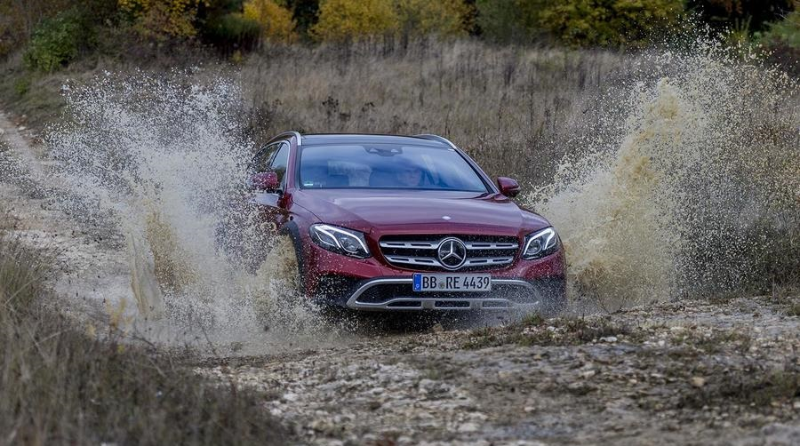 Первый тест-драйв Mercedes-Benz E-Class All-Terrain 2017 года фото