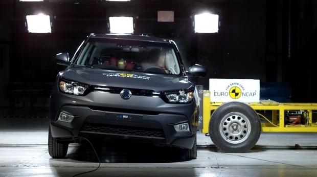 В краш-тестах Euro NCAP разбито пять новых автомобиля