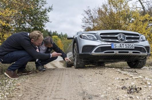 Первый тест-драйв Mercedes-Benz E-Class All-Terrain 2017 года