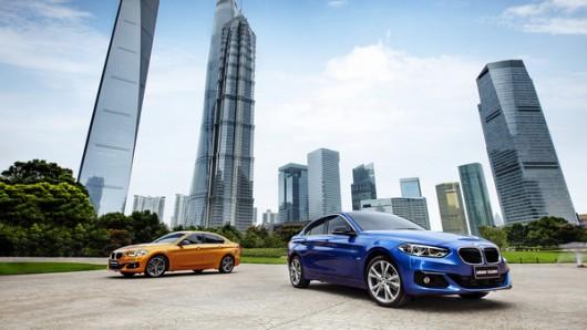 Китайская БМВ 1-Серии, дебют седана на автосалоне в Гуанчджоу 2016 года