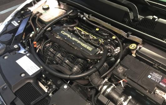 1.6 литровый двигатель без распредвала от Qoros 3 развивает 230 л.с.