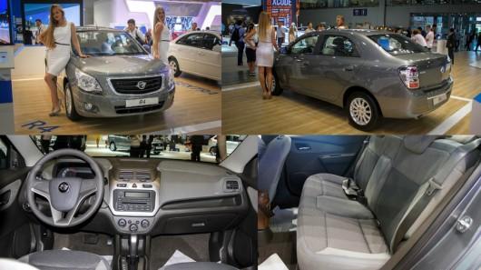 Седан на базе Chevrolet Cobalt, Ravon R4, за 499.000 рублей