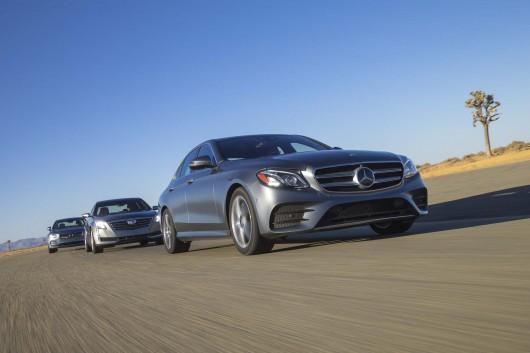 Тест-драйв бизнес-класса 2017: Volvo S90 T6, Cadillac CT6 2.0T, Mercedes-Benz E300