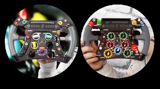 Эволюция в Формуле-1: Как менялось рулевое колесо
