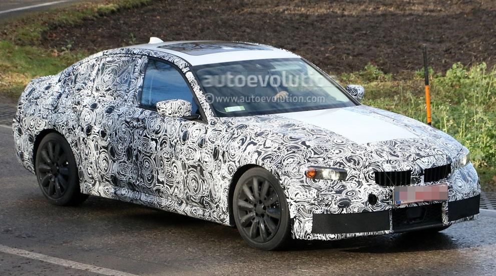 Первые фотографии M-Серии 2018 BMW 3 в камуфляже