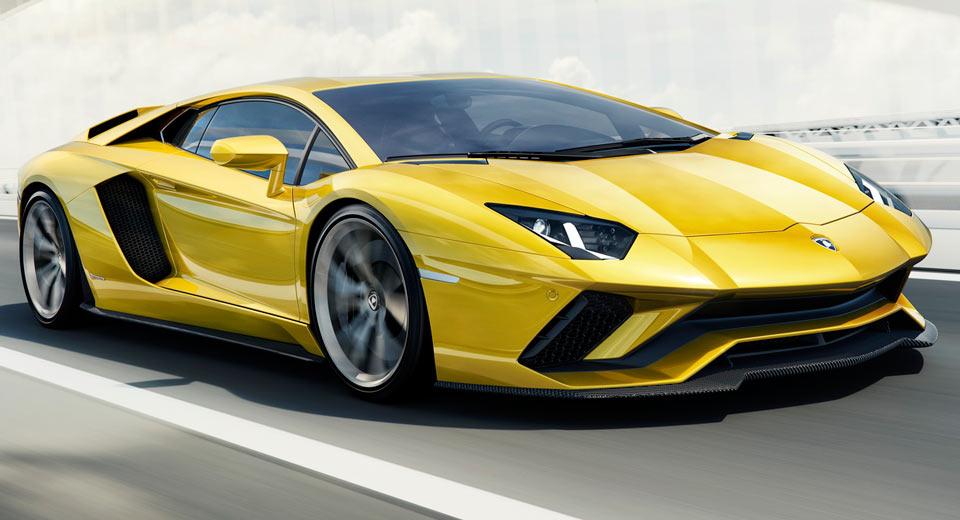 Официальная премьера 2017 Lamborghini Aventador S