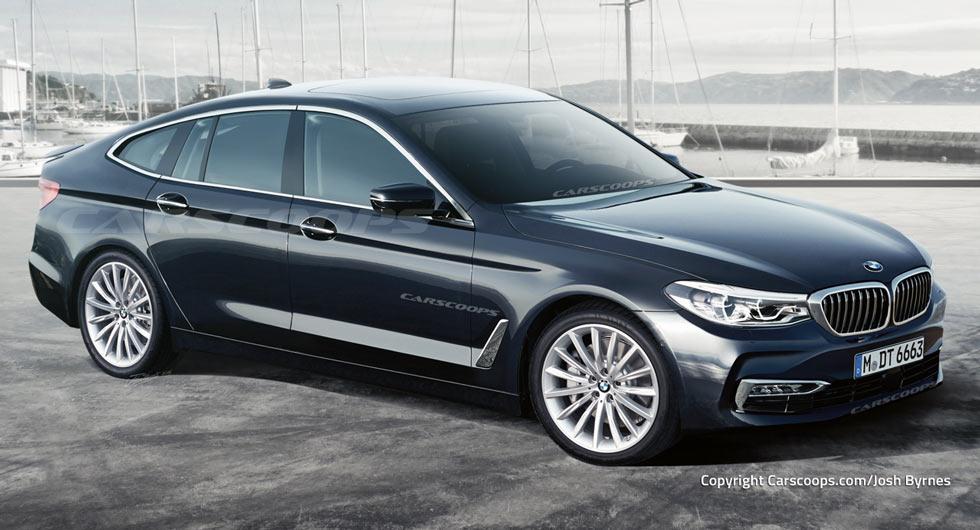 Автомобили будущего: как будет выглядеть 2018 BMW 6-Series GT