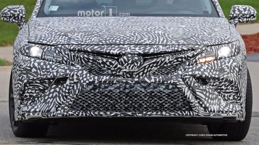 Тойота покажет новую Камри в январе на автосалоне в Детройте
