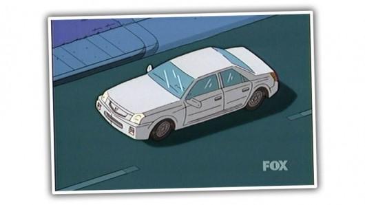 Автомобили используемые в Симпсонах