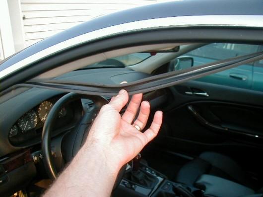 Как предотвратить замерзание дверей автомобиля