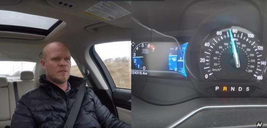 Что произойдет, если в на скорости 110 км/час в автомобиле включить заднюю скорость