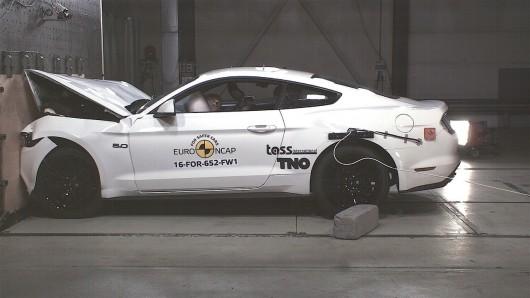 Форд Мустанг провалил краш-тесты Euro NCAP