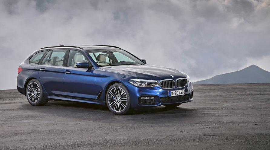 Первые фотографии нового универсала 2017 BMW 5 Series: Эксклюзив