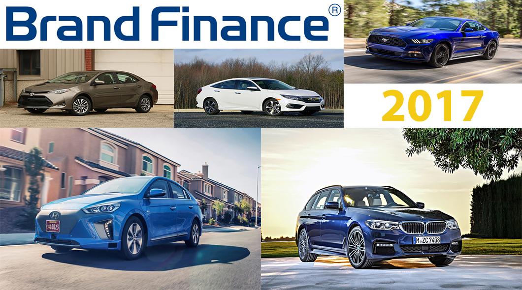 7 самых дорогостоящих автобрендов в 2017 году