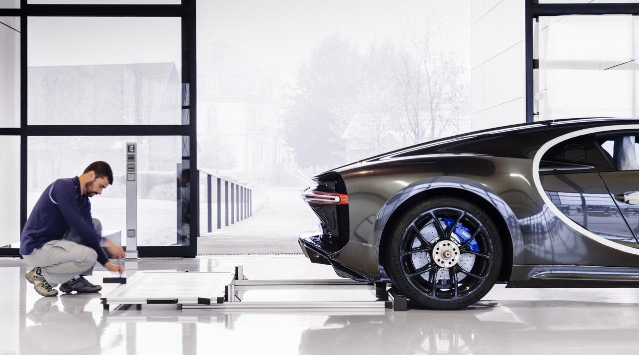 11 новых фактов о производстве Bugatti Chiron