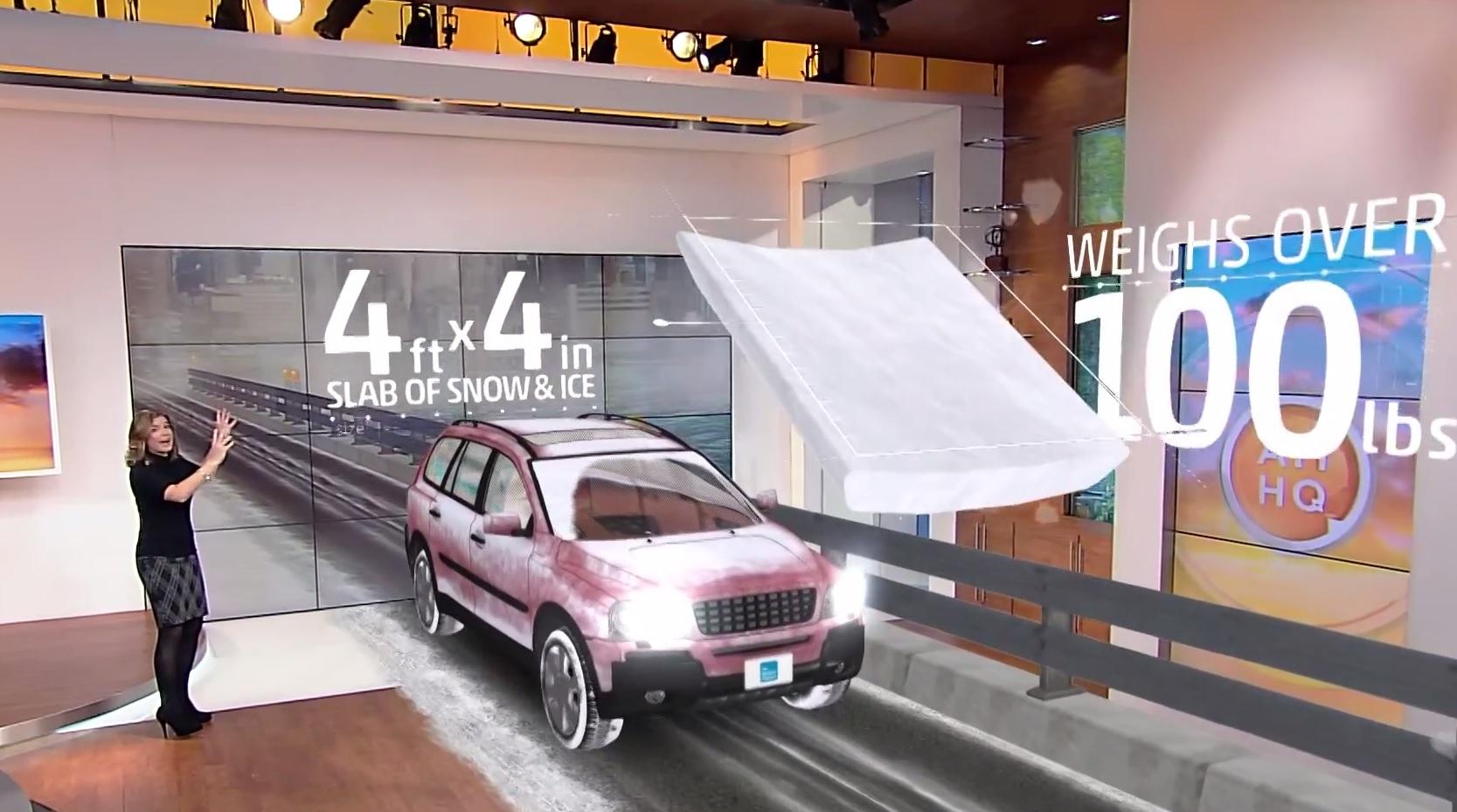 Вот почему крайне важно полностью очищать снег с автомобиля