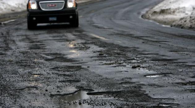 В России зафиксирован резкий рост ДТП по причине плохих дорог