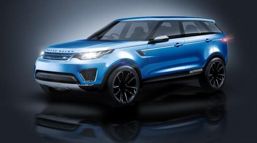 Новая модель внедорожника спорткупе от Range Rover по имени Velar [Первые подробности]