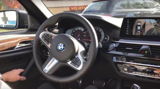 Смотрите как новая BMW 5-серии паркуется с помощью автопилота