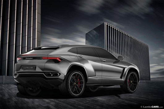 Lamborghini Urus может дебютировать на Шанхайском автосалоне весной 2017