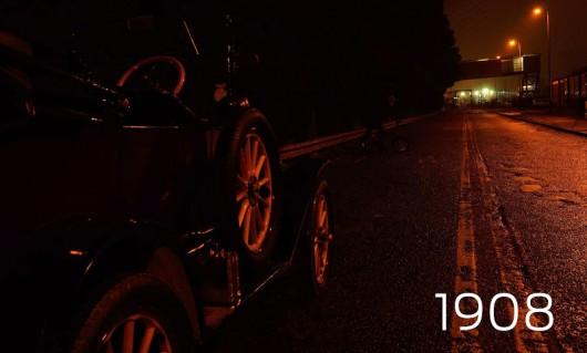 108 лет прогресса фар Форд