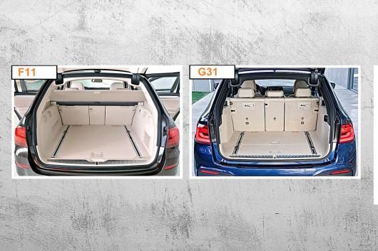 BMW 5-серии (2017) G30/G31 против старой F10