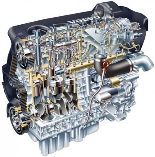 Преимущества пятицилиндрового двигателя