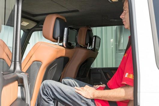 Вечный внедорожник: тест-драйв Mercedes G-класса