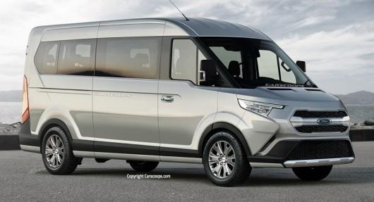 Автомобили будущего: как будет выглядеть Ford Transit в 2019 году?