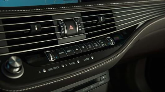 Первая техническая информация о гибридном 2018 Lexus LS 500h
