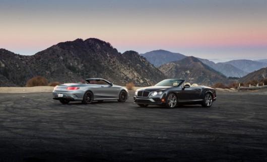 Сравнение Bentley Continental GT V8 S и 2017 Mercedes-AMG S63