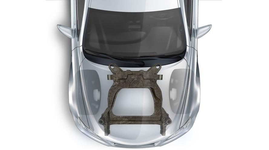 Форд разработал первый в мире карбоновый подрамник для серийных автомобилей