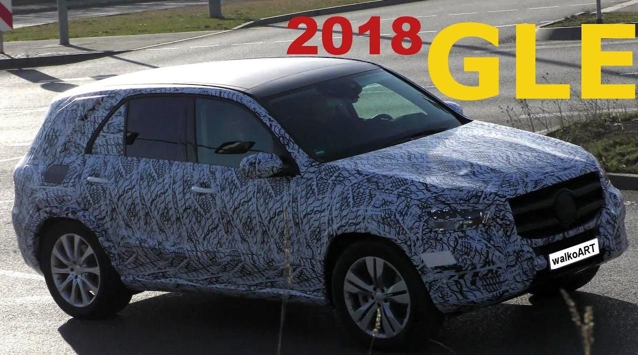 2019 Mercedes GLE-Class, фотографии экстерьера и интерьера