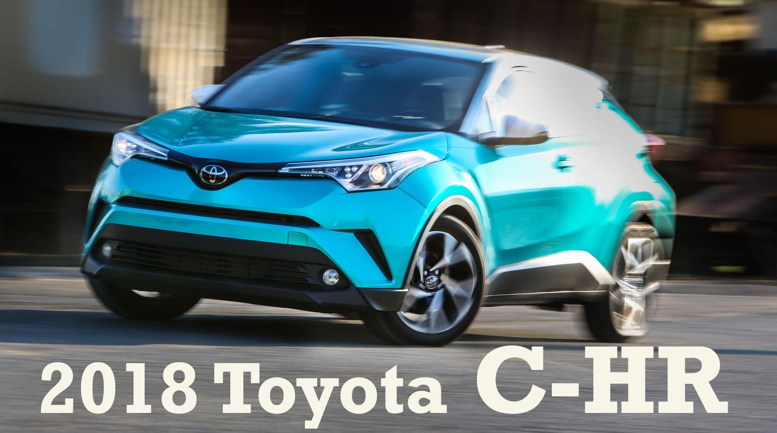 Первый обзор кроссовера 2018 Toyota C-HR, Встречают по одежке