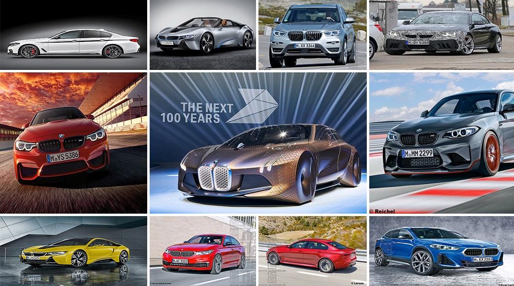 Все новые BMW, которые выйдут в ближайшем будущем