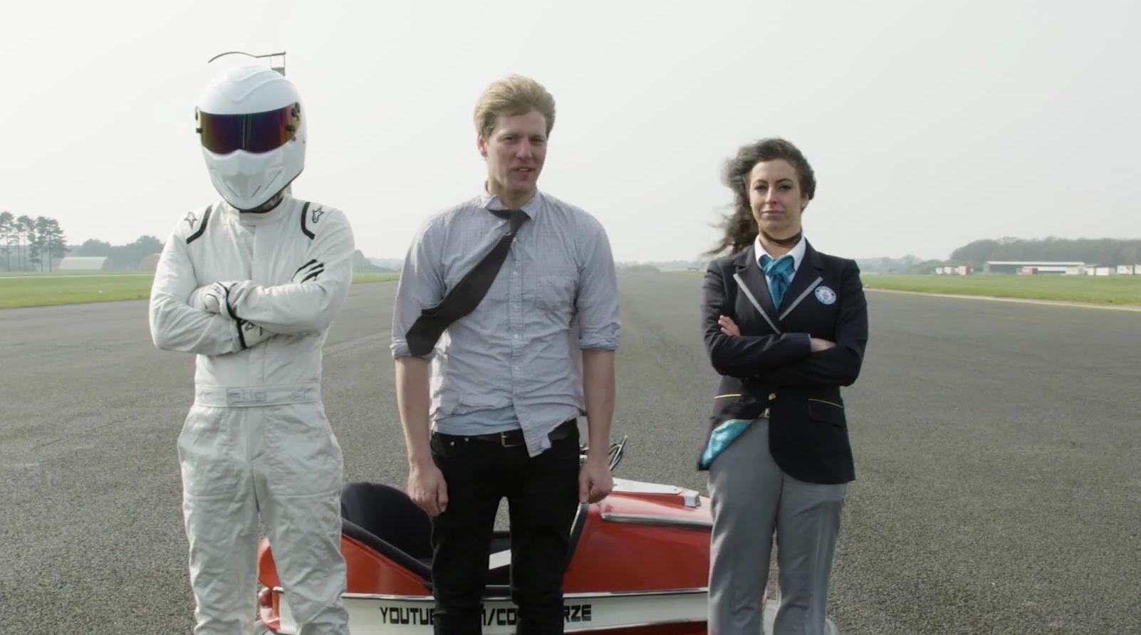 Стиг установил мировой рекорд скорости на аттракционном электромобиле