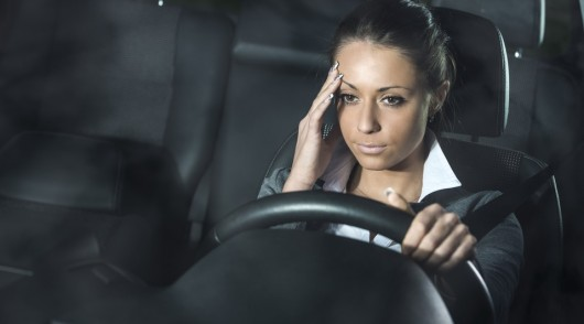 Можно ли садиться за руль с похмелья?
