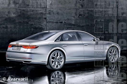 Вся информация о новом 2018 Audi A8