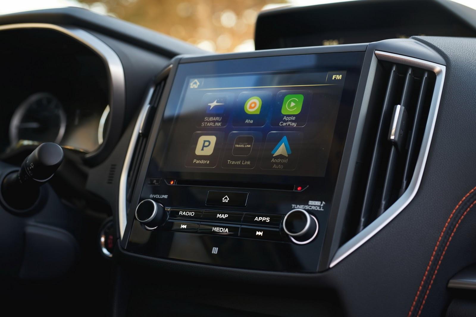 Премьера нового Subaru Outback состоится в Нью-Йорке новые фото