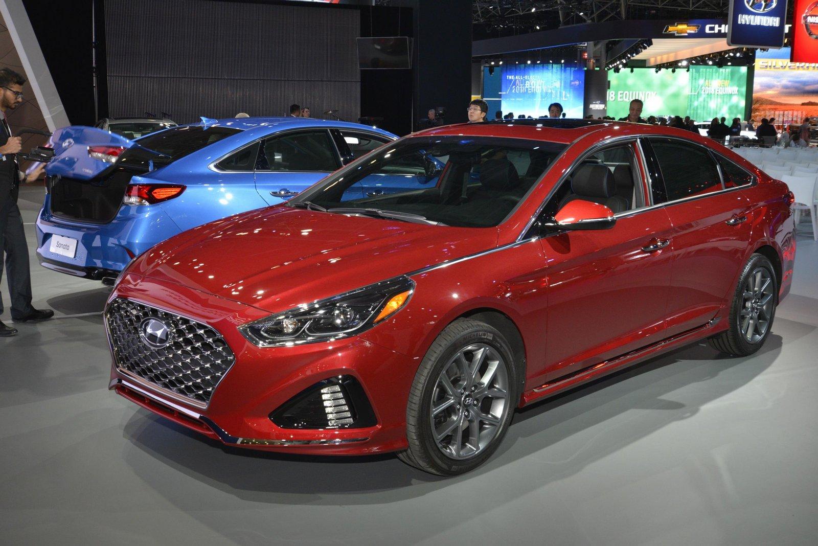 Обновленный Hyundai Sonata 2018. Первые официальные фото