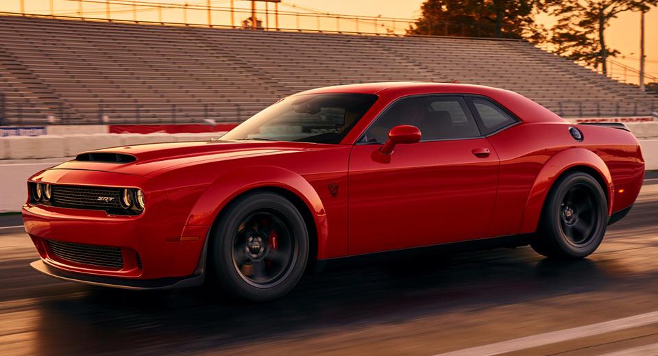 2018 Dodge Challenger SRT Demon самый быстрый серийный автомобиль в мире [Фотографии, технические данные]