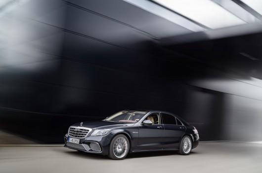 Мировая премьера рестайлингового 2018 Mercedes S-Class