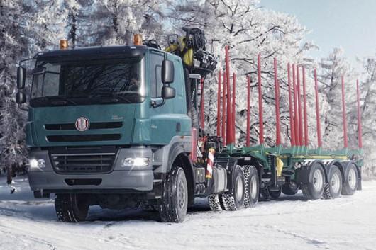 Топ 29 самых мощных грузовых автомобилей в мире в 2017 году. Tatra
