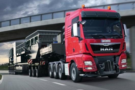 Топ 29 самых мощных грузовых автомобилей в мире в 2017 году. MAN TGX