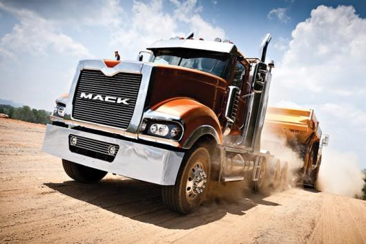 Топ 29 самых мощных грузовых автомобилей в мире в 2017 году. Mack Programm