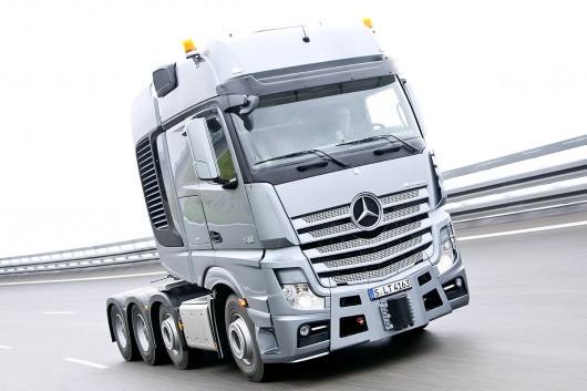 Топ 29 самых мощных грузовых автомобилей в мире в 2017 году. Mercedes-Benz Actros SLT