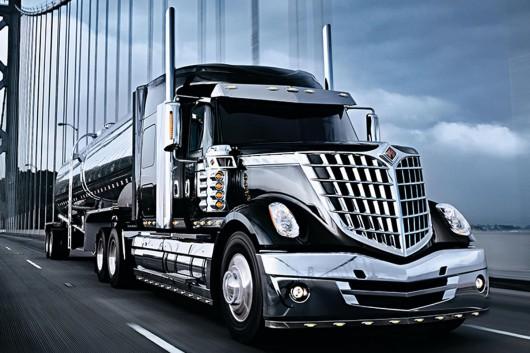Топ 29 самых мощных грузовых автомобилей в мире в 2017 году. International Lonestar