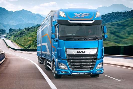 Топ 29 самых мощных грузовых автомобилей в мире в 2017 году. DAF XF